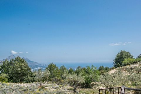 Rustic plot of 13.987m2 in Benimantell, with good access and at only 300m of the restaurant Rincón de Pepe. The plot is almost flat and has panoramic sea views, to the mountains and to Guadalest Castle. Water and electricity connections are nearby. I...