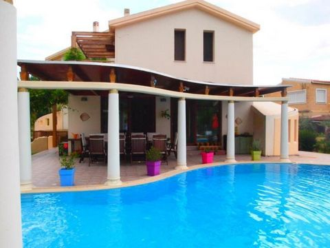 For sale modern luxurious villa of 343sqm with swimming pool with sea water and jacuzzi, with its own deck for your boat. It is located near Corfu town and consists of 3 floors. On the ground floor there is the sitting area and kitchen with bar. On t...