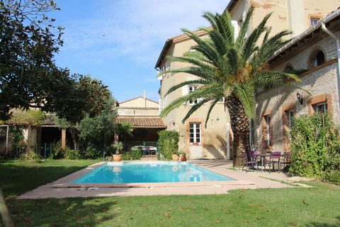 In the heart of this picturesque village is this 18th century property with 14 bedrooms and 13 bathrooms spread out between the main house and the cottages. Situated 3 minutes from the Canal du Midi, this property with its garden and swimming pool, s...