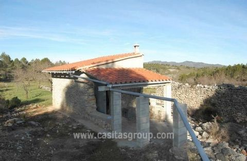 A Plot of Rustic land of 16,600m2 approx. With a small casita and ruined corral. There is a 10.000Litre Water deposit in situe. The land is almost completely flat with easy access yet totally private.