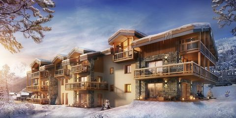 Luxury apartment located in the heart of the village of Courchevel le Praz, which includes several balconies and offers beautiful views of the surrounding mountains. The spaces are vast and bright, the 3 bedrooms of the apartment can accommodate 6 pe...
