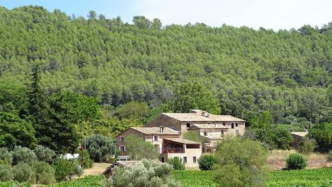 CHARMING 8 HA ESTATE IN AOP COTES DE PROVENCE If you dream of running your own vineyard here in the Provence, then this is the one for you; - Attractive house built from local stone, in a dominant position - 8 ha of well-kept vines - A hangar that wo...