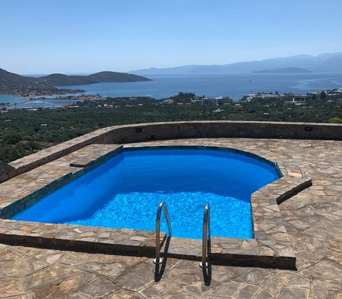 Located in . Two bedroom villa with guest apartment, positioned on a large plot of approx. 6.000m2. Located about 800m from the centre of Elounda with the shops, restaurants and the sandy beach. The property enjoys wonderful views of the bay of Eloun...