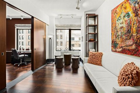 BEST VALLUE! Oversized 1 Bedroom! Residence 11G is the best value offering at the highly coveted 40 Broad Street.This is an exquisite turn key oversized, fully customized 1 bedroom / 1bathroom residence ideal for all buyers: looking for full time res...