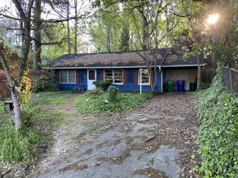 Located in Atlanta. Build your dream home on this 0.4-acre pretty, level lot or renovate the existing 2 bed/1 bath existing home located in an ideal Brookhaven location, just a few steps from new Skyland Park featuring playground, beach volleyball co...