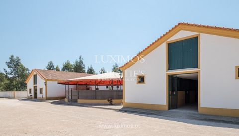 Excellent urban land , with Equestrian Centre, in Oliveira de Azeméis . Very well structured, built and equipped Equestrian Centre , observing the highest quality standards. New design and construction: pit areas, warehouses, indoor and outdoor ridin...