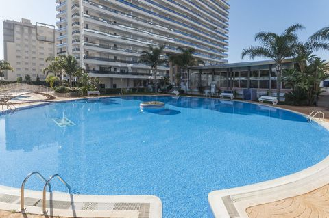 We welcome you to this beautiful apartment for 5 people, located in an impressive complex with outdoor community pool, heated pool, and just a few steps away from the beach of Gandia. For warm weather and beach enthusiasts who love continuous enterta...