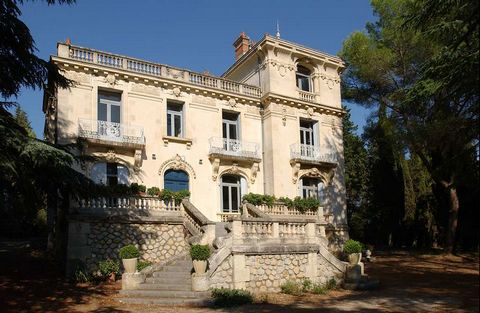 Wine Property Montpellier, 40 ha with 20th Century Maison de Maitre Ideally located 20 minutes from Montpellier, easily accessible, 40 ha in one piece including 22 ha of VINES 10 ha of FIELDS. The majority are on the magnificent terroir of GRES de MO...