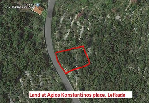 For sale a parcel of 4063 sq.m.in '' Agios Konstantinos '' place with frontage on a provincial road and panoramic views of the Ionian Sea .price 150,000 euros. There are also three plots of land for sale: Plot of 607sq.m.with olive trees inside ...