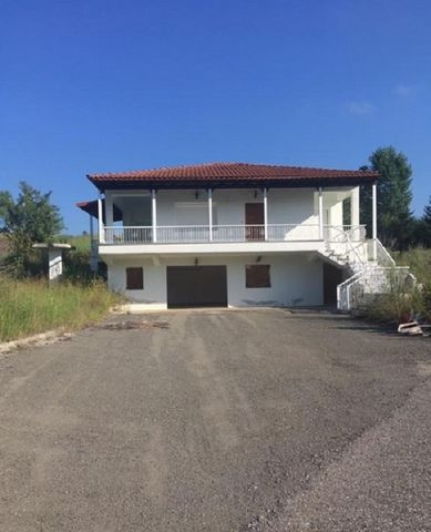 Vatolakkos, Western Macedonia. On the old national road Grevena-Kozani. For sale a detached house 145 sq.m. on the plot of 6000 sq.m. It consists of 3 bedrooms, wc, living room / kitchen with open terrace around the house, on the ground floor there...