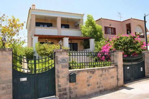 AEGINA center. For sale a traditional and modern three-story house of 244 sq.m. , built in 2005. The property located on a plot of 540 meters, full furnished in a very quiet area, 10 minutes walk from the port and the center of Aegina. It has a very...