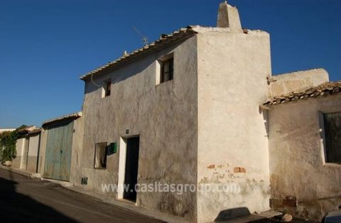 A really well priced Town House to reform just a short drive from the Cathedral Town of Lorca. A unique opportunity to acquire a Town House to Reform to your own taste which will enable you to walk to all of the facilities of this quaint Spanish Vill...