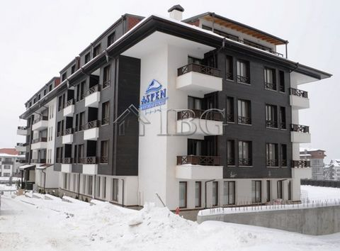 Blagoevgrad. Penthouse 2-bedrooom apartment in Aspen House, Bansko IBG Real Estates is pleased to offer this furnished two-bedroom apartment, located on the 4th floor in Aspen House Complex, Bansko. The complex is opposite the ski station and the dis...