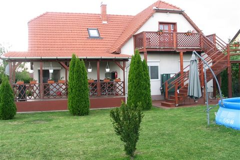 This holiday home is located in Sarud, a very nice and quiet village, quite small, on the western shore of Lake Tisza. The accommodation offers opportunities for numerous outdoor activities such as mini-golf, volleyball, archery, skittles, badminton,...