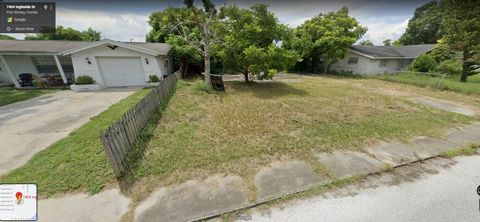 Located in Port Richey. This is the last vacant homesite available in this Port Richey established neighborhood. The property sits on a nice paved road and all utilities are available. Port Richey is considered the gateway to the Gulf of Mexico, bein...