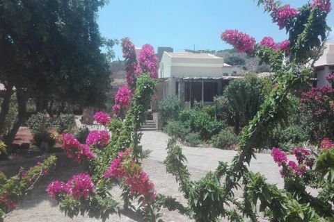 Located in . This is a 3 bedroom detached house in the picturesque tourist area of Plaka, Elounda situated just a short walk to the beach and to the coastal cafes and restaurants of the resort. The 165m2 house stands on private land of 1700m2. The ho...