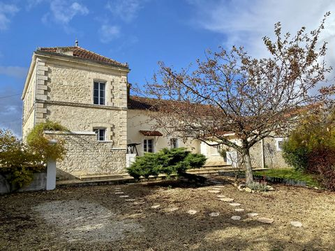 Once the Mairie and school for the village, this south facing property has been meticulously renovated to an extremely high standard to provide nearly 200m² of living space, with large windows and tall ceilings. Situated in a riverside village with b...