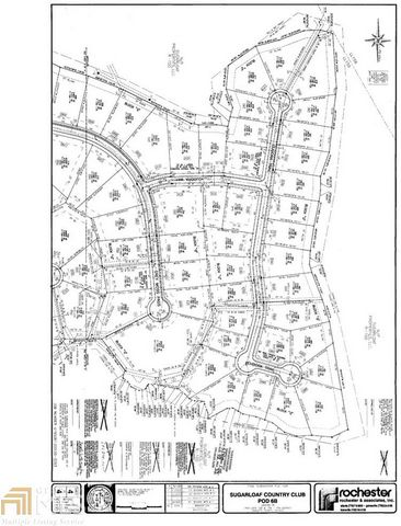 Located in Duluth. Build your custom dream home on this beautiful cul-de-sac lot in Sugarloaf Country Club. This is a quiet, one-of-a-kind lot featuring breathtaking golf course views with a gentle slope perfect for a daylight basement. One of few lo...