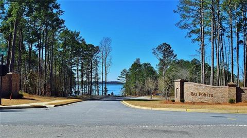 Located in Gainesville. 12 X 28 new boat slip in community dock included with this level, mature tree cover, deep water lot with long range views. 39 lot subdivision currently under development. Phase 2 to be completed by Spring 2018.