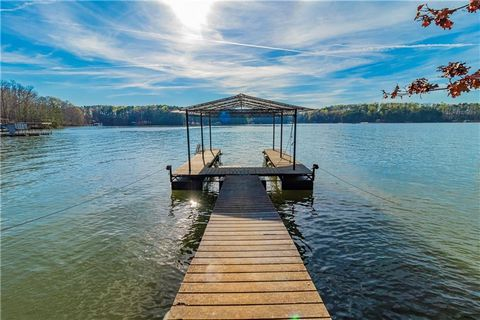 Located in Gainesville. Come and walk this beautiful lot and dream up plans for your custom built home! This is a great location on Lake Lanier (South Lake), within 10 minutes of 3 marinas. Wonderful view with western exposure. Level access to water ...