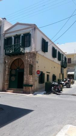 Sitia One of the best traditional listed stone buildings in Sitia. It is located on a plot of 80m2. The ground floor is 75m2 with a very big open area and two W.C currently used as a cafeteria. The first floor which is also 75m2 has a separate entran...