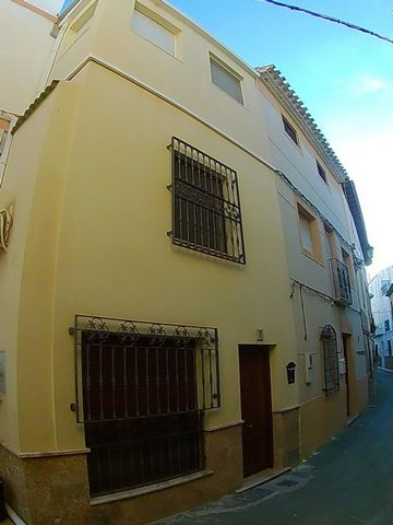 A quality three storey town house available in the busy market town of Albox here in Almeria Province. The house has been reformed throughout to a very high standard throughout. The ground floor has a marble floor and comprises of a hallway upon entr...