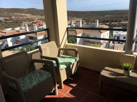 Available for sale or rent!Fantastic apartment located in the private community of Vista Hermosa, Santa Margarita. Offered for sale by the value of the outstanding mortgage. A fantastic opportunity that cannot be missed!The apartment is arranged on...