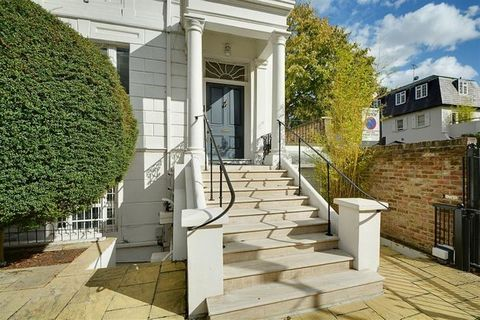 An imposing Georgian semi-detached, corner house with an automated entrance gate and a multi-space driveway on a well-connected, one-way road in Kensington. This freehold property, situated moments from the main thoroughfare, has been comprehensively...