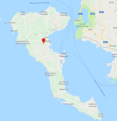 In a magnificient location of Poulades - close to the village of Gazatika- in Corfu island of Greece, two plots of land one adjacent to the other, approximately 4500 sq. m. each are for sale separately or as a whole. They have a frontage on the stree...