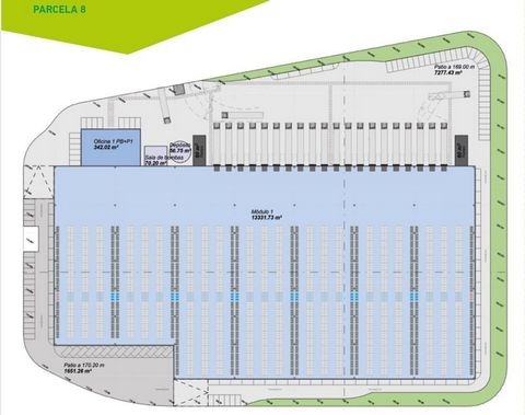 Logistic Warehouse for rent in Cheste, with 14,015 m2 and Loading Dock.