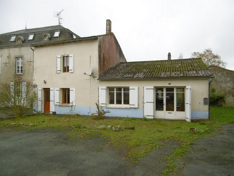 A character house in the attractive village of Vernoux en Gatine, which is almost mid way between the towns of l'Absie and Secondigny where there are supermarkets and a good range of shops and services. There is a baker and restaurant within walking ...